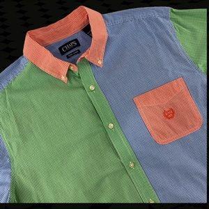 Ralph Lauren Chaps Rainbow Multicolor Plaid Shirt
